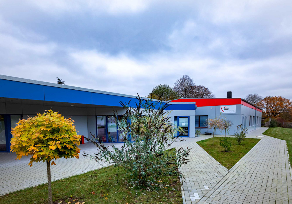 Das AWO-Familienzentrum in Wankendorf.