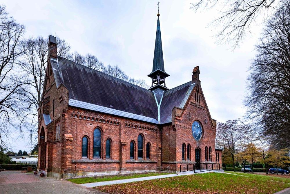 Die Evangelisch-Lutherische Kirche in Wankendorf.