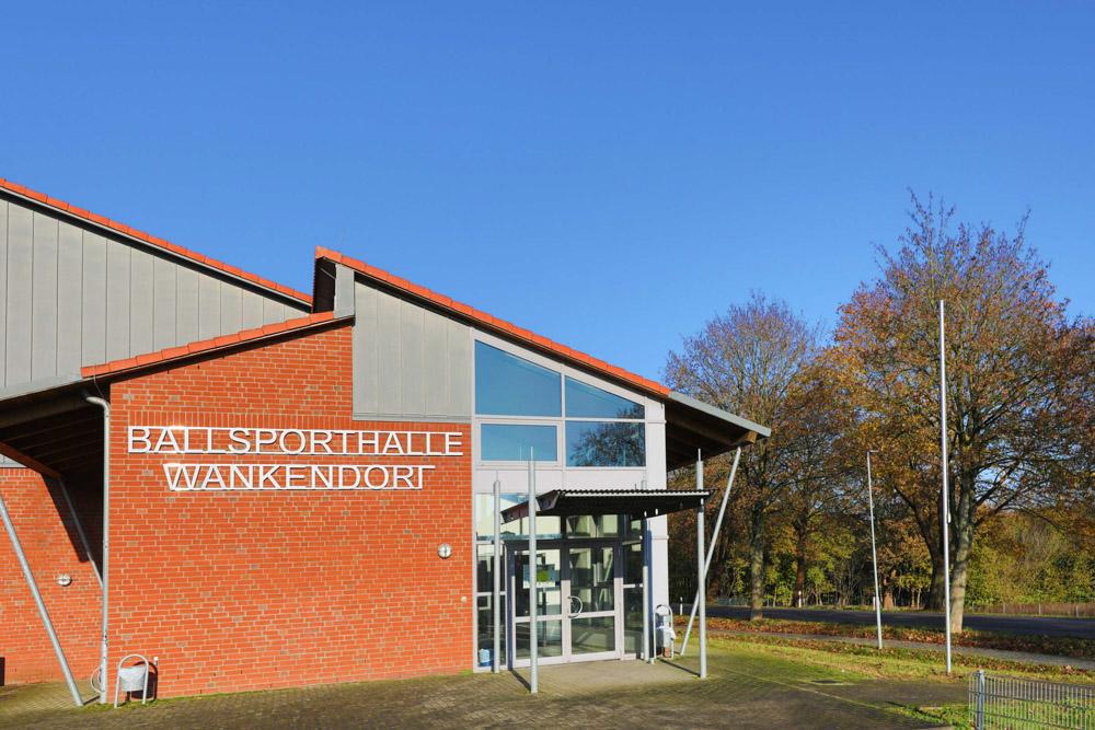 Die Wankendorfer Ballsporthalle. Ein lebendiges Stück Gemeindeleben.