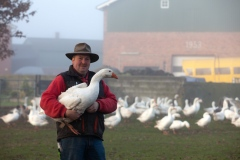 In Gemeinden wie Tasdorf gibt es noch bäuerliche Tierhaltungen zum Anfassen.