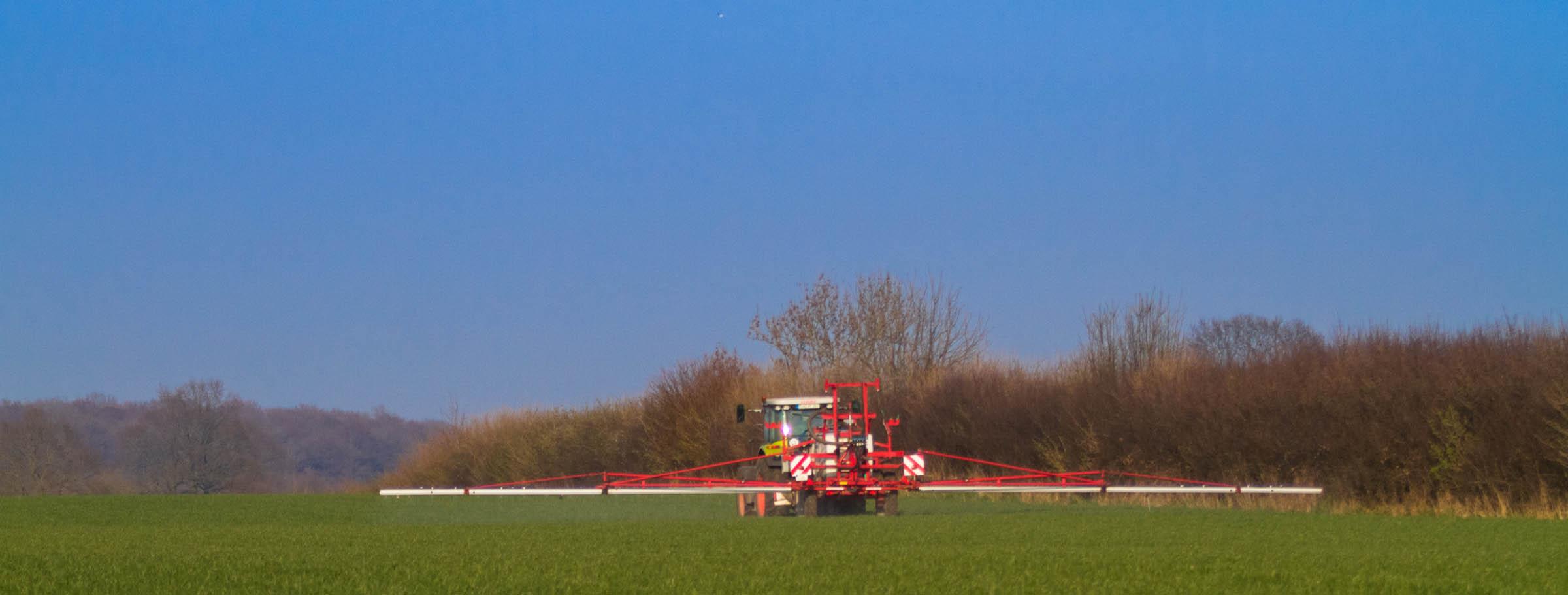 Landwirte müssen sich bei der Düngung sputen – Frühjahrstrockenheit könnte dem frühen Wachstum einen Strich durch die Rechnung machen
