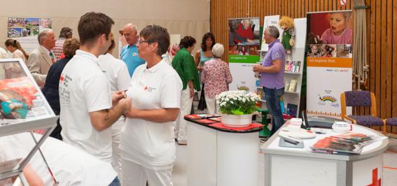 Die zweite Trappenkamper Gesundheitsmesse war ein voller Erfolg. Am Wahlsonntag kamen über 1000 Besucher