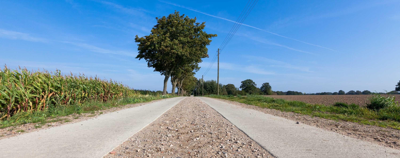 Bokhorst soll ein neues Baugebiet erhalten. Spurbahnen in Schillsdorf und Großharrie sind holperig gebaut worden