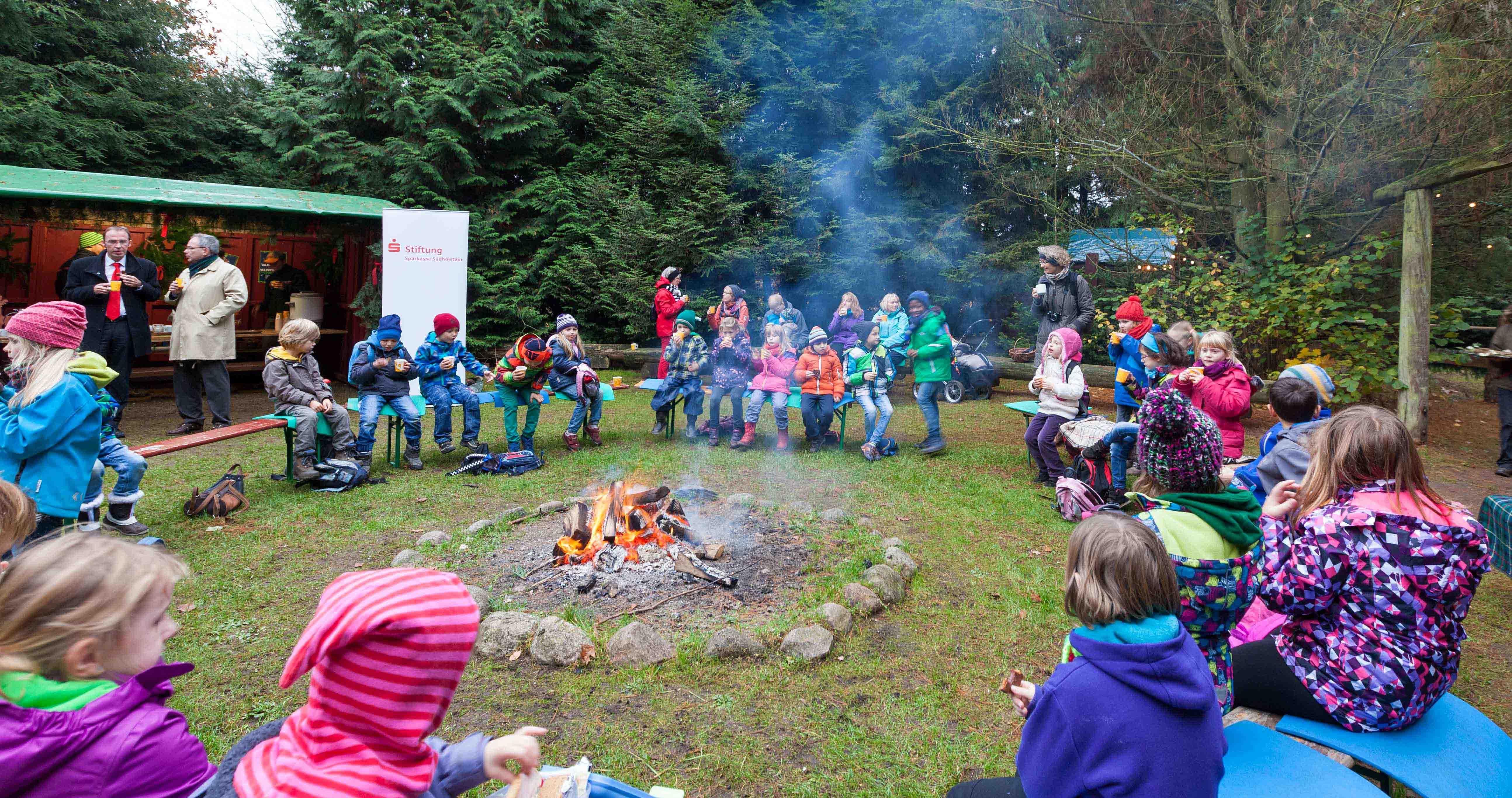 Im Erlebniswald Trappenkamp wurde die Weihnachtszeit eingeläutet
