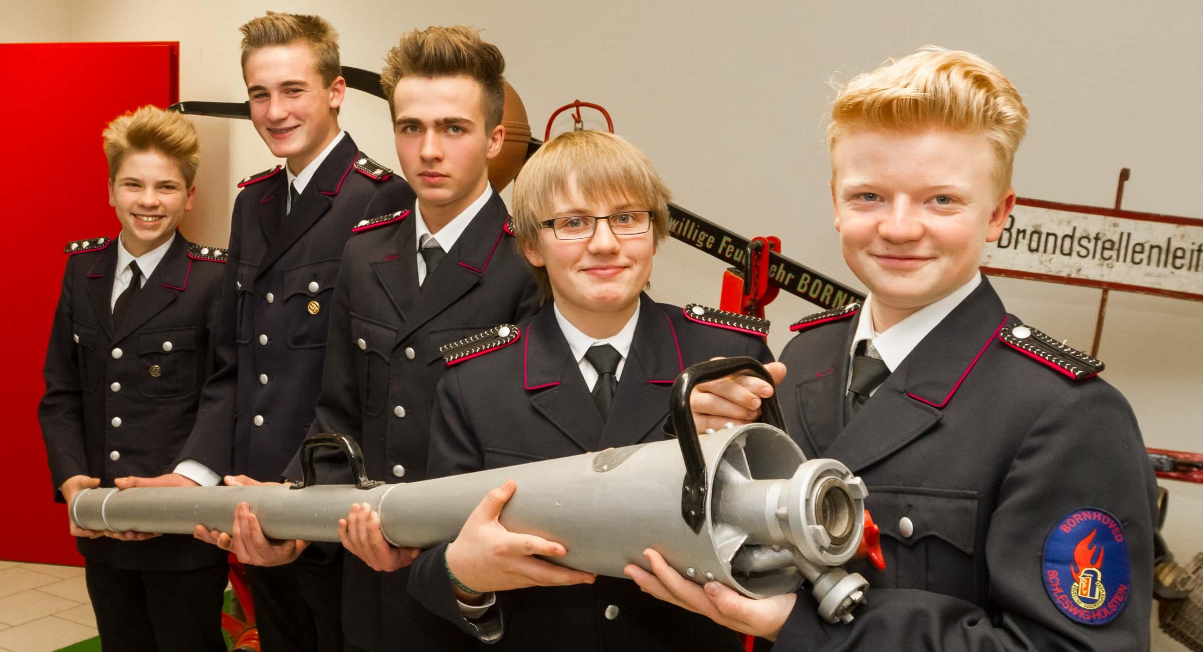Wachwechsel bei der Freiwilligen Feuerwehr Bornhöved. Dirk Stemke wurde neuer Wehrführer