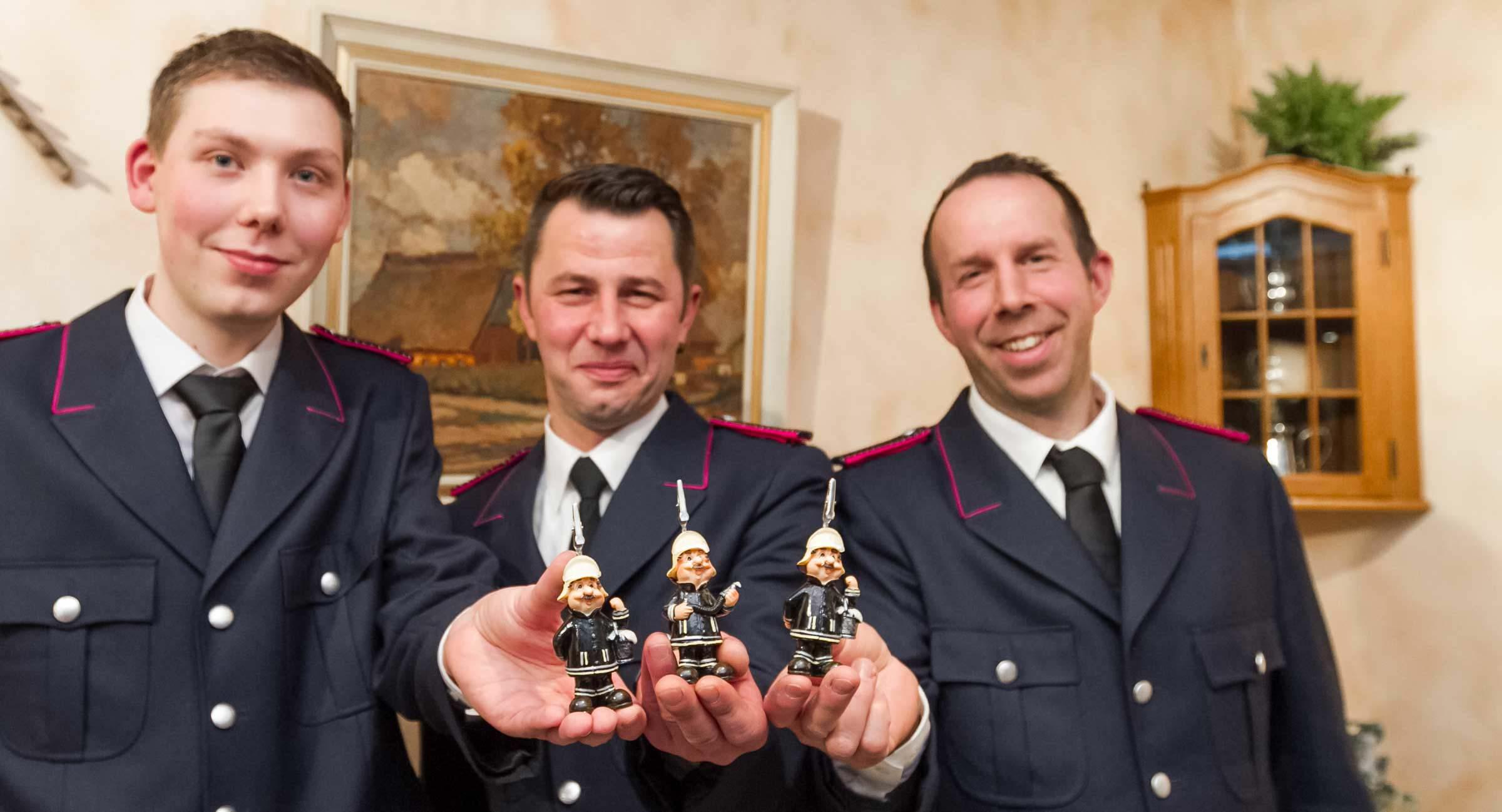 Tasdorfer Feuerwehr freute sich über Zuwachs