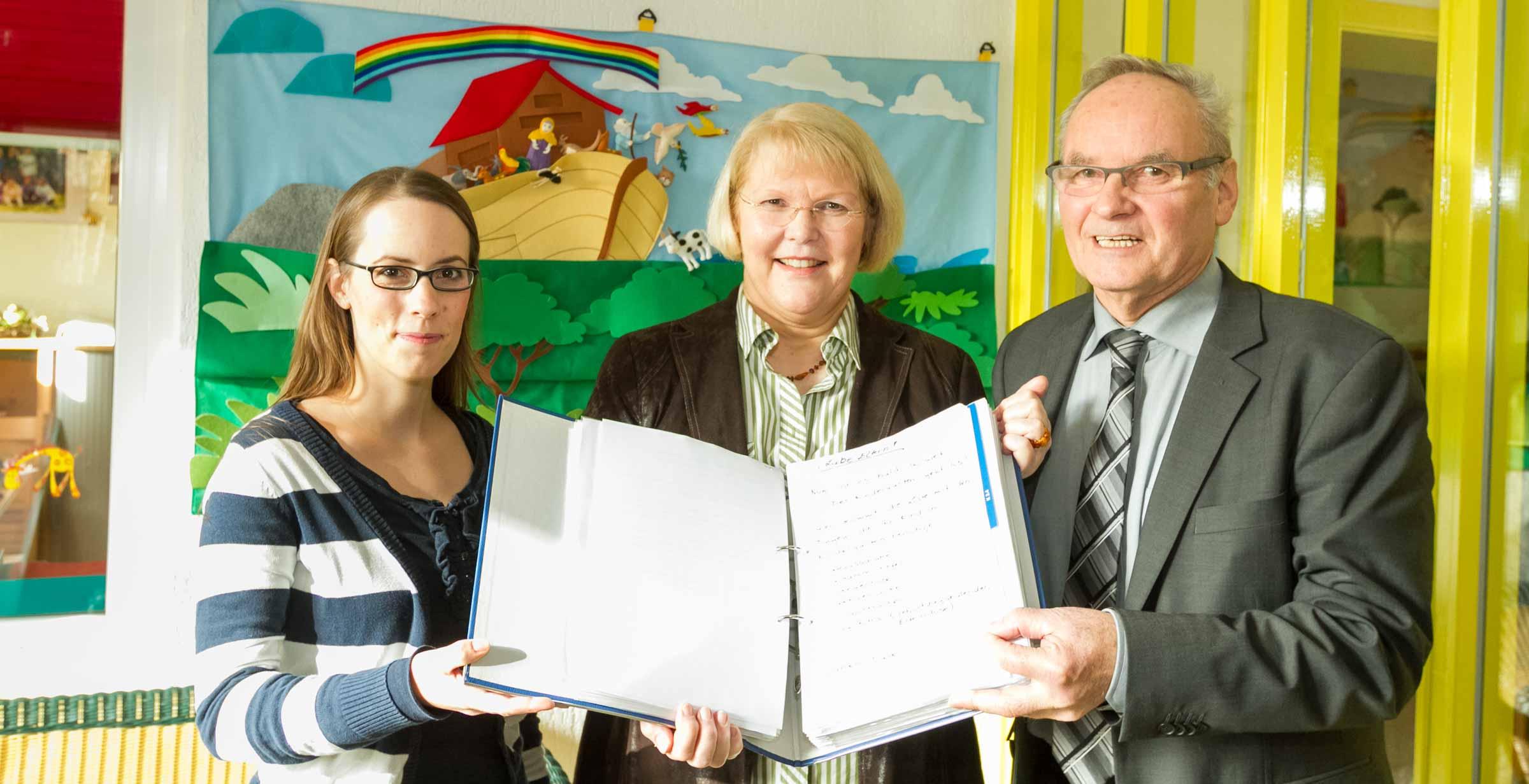 Die Kindertagesstätte Arche Noah in Trappenkamp wurde zertifiziert
