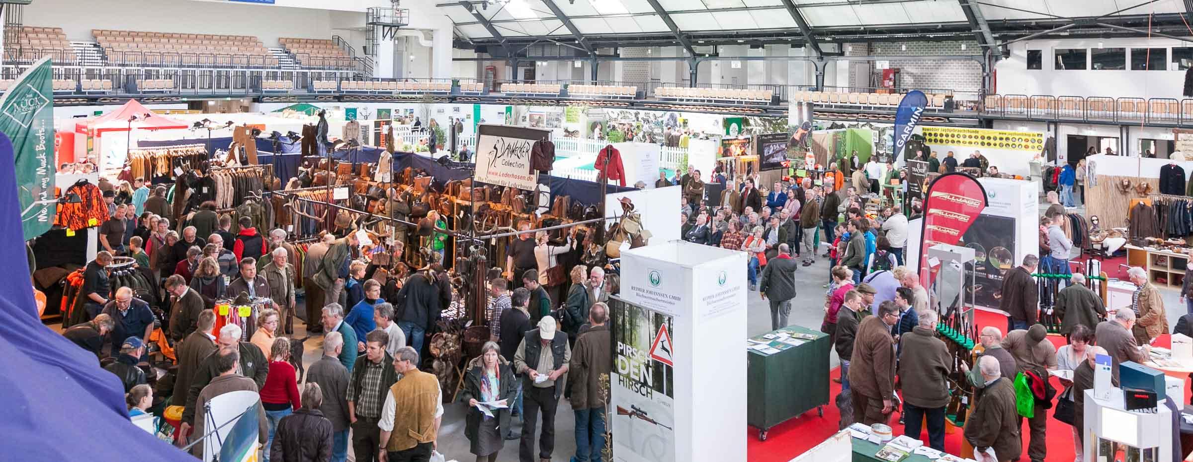 Im April sammelte die neue Outdoor  Messe in Neumünster Punkte bei Ausstellern und Besuchern