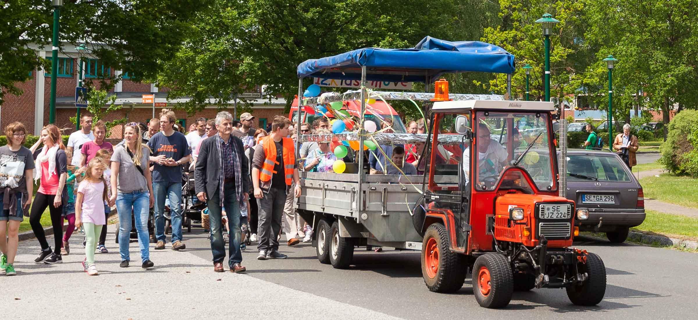 Trappenkamper feierten 12 Jahre Kidsmove