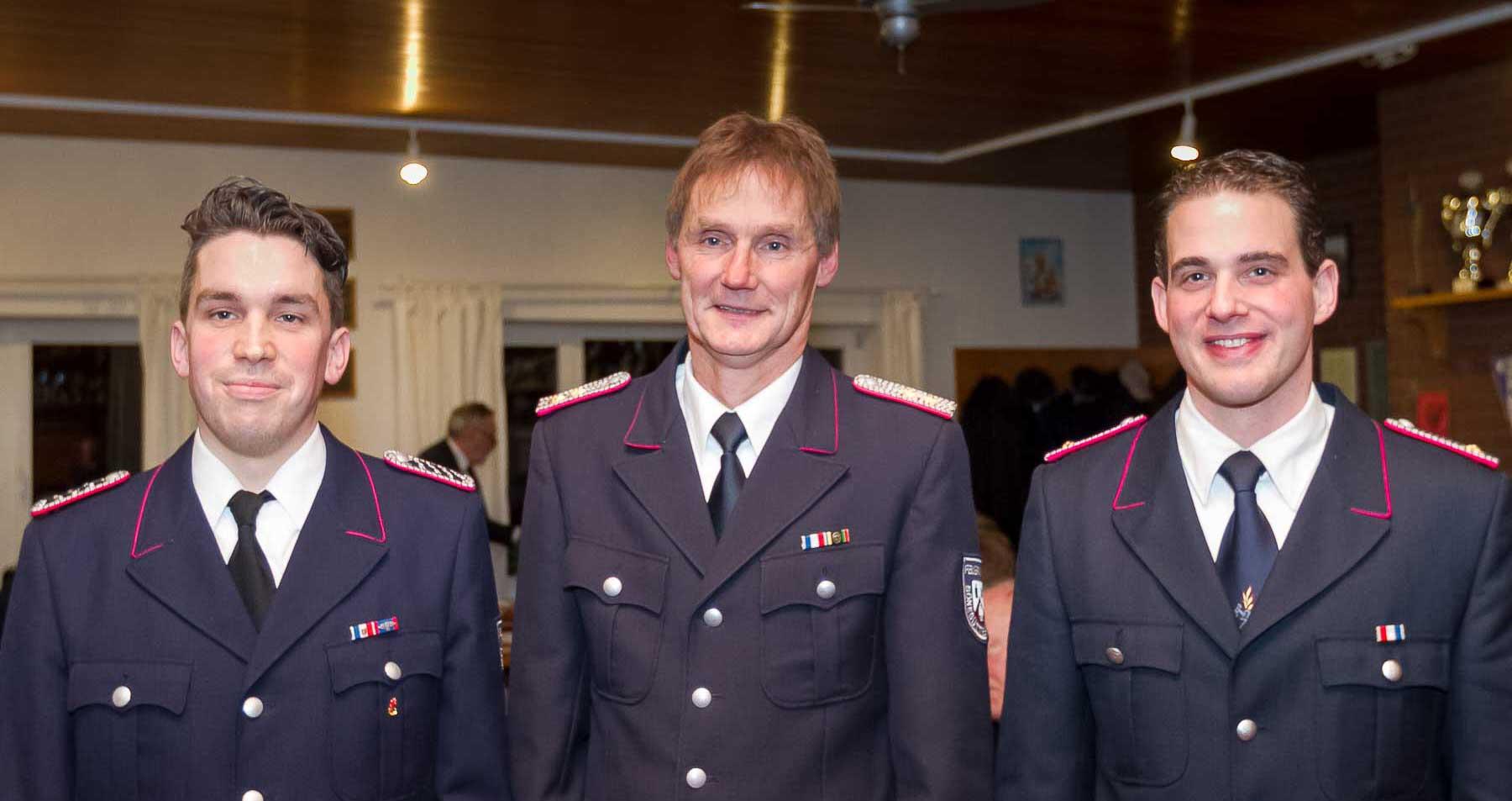 Bönebüttels Freiwillige Feuerwehr geht mit neuer Dreierspitze in das neue Jahr