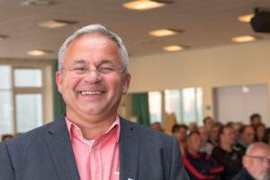 Reinhard Wundram ist frisch gewählter Bürgermeister in Bornhöved und löst Dietrich Schwarz ab.
