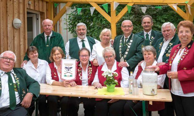 Schützen feierten 50 Jahre Schützenverein in Wankendorf.