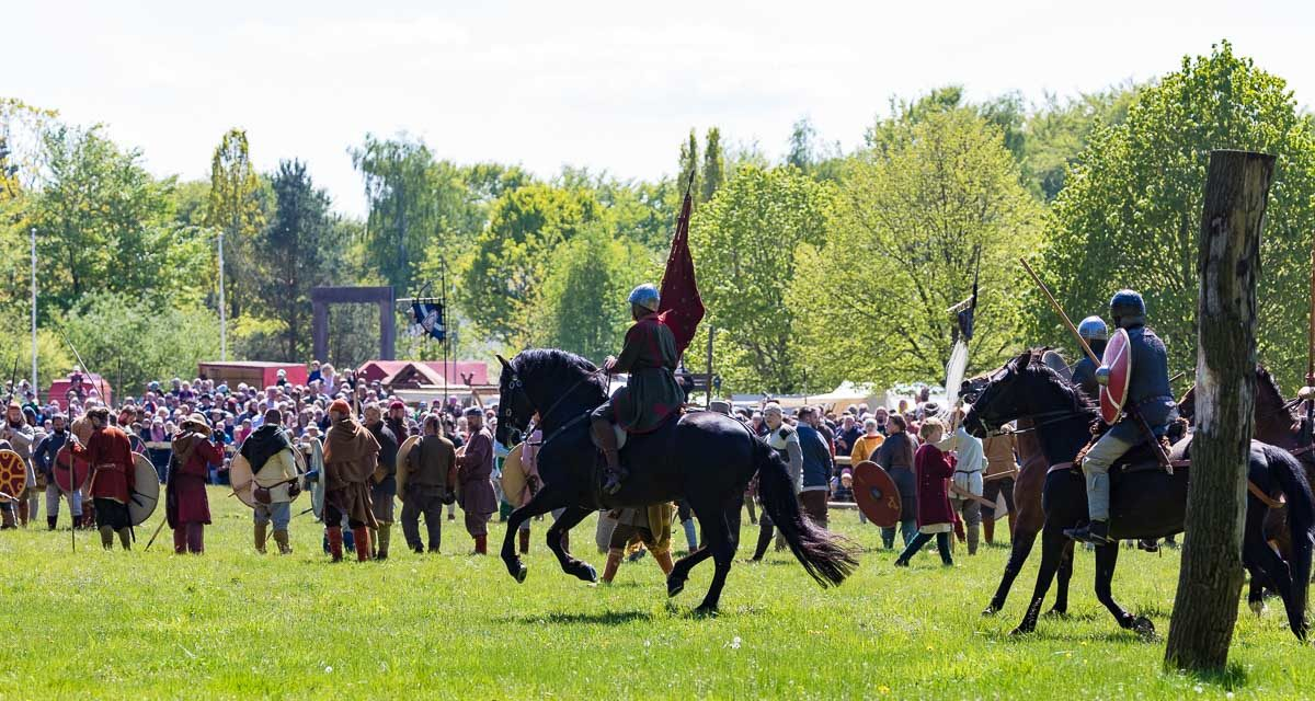 Am Wochenende drehte sich im Erlebniswald Trappenkamp das Rad der Geschichte über 1200 Jahre zurück. Die Schlacht um Sventana begeisterte fast 10.000 Zuschauer.