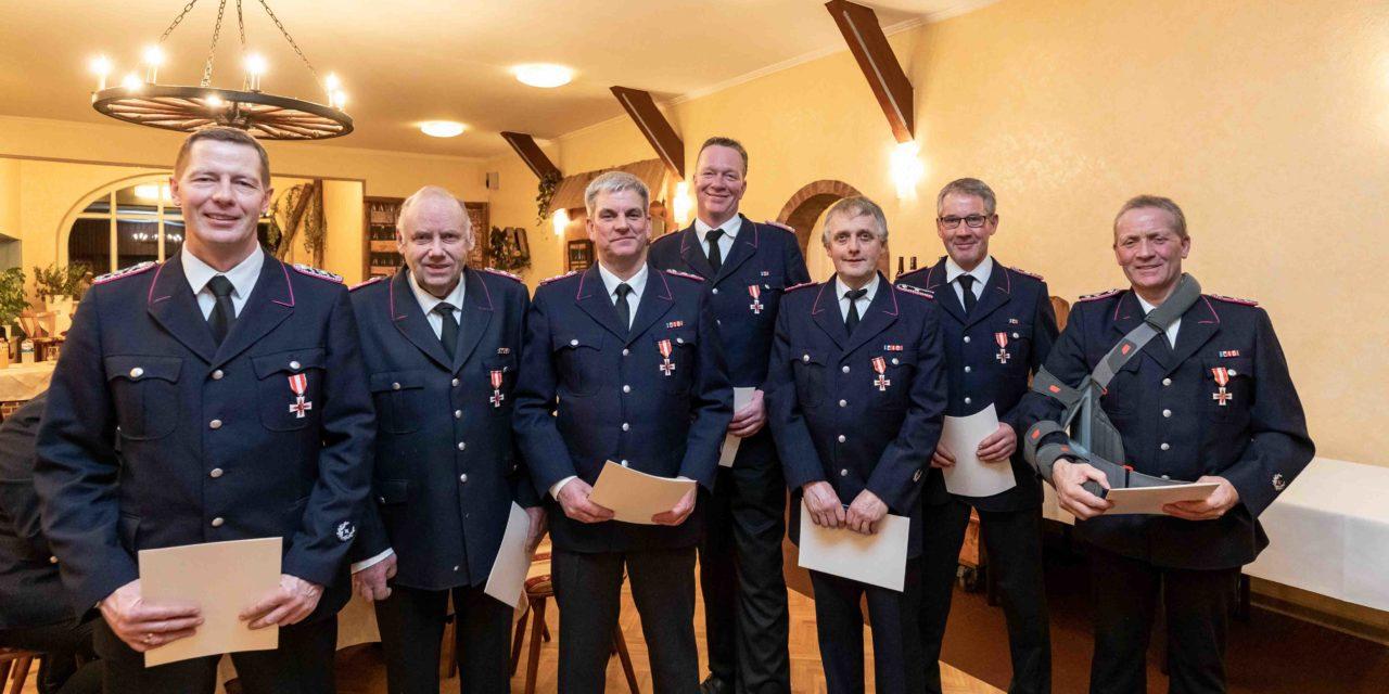 Eine starke Truppe und ein ruhiges Feuerwehrjahr 2019, blickten Schillsdorfs Freiwillige zurück