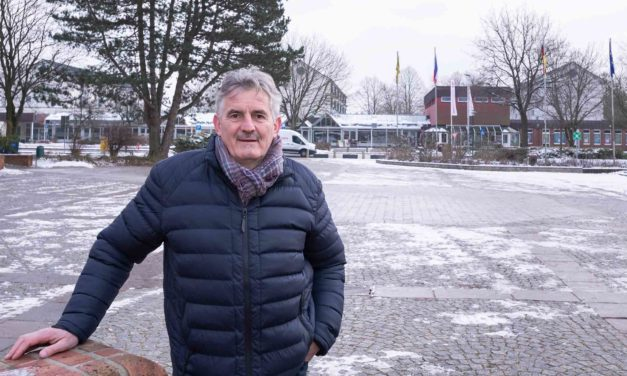 Zehn Jahre und kein bisschen müde! Trappenkamps Bürgermeister ist zehn Jahre im Amt.