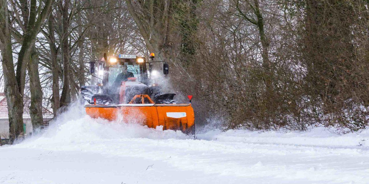 Im Raum Bokhorst-Wankendorf läuft der Winterdienst rund. Zehn Zentimeter Neuschnee waren keine große Herausforderung.