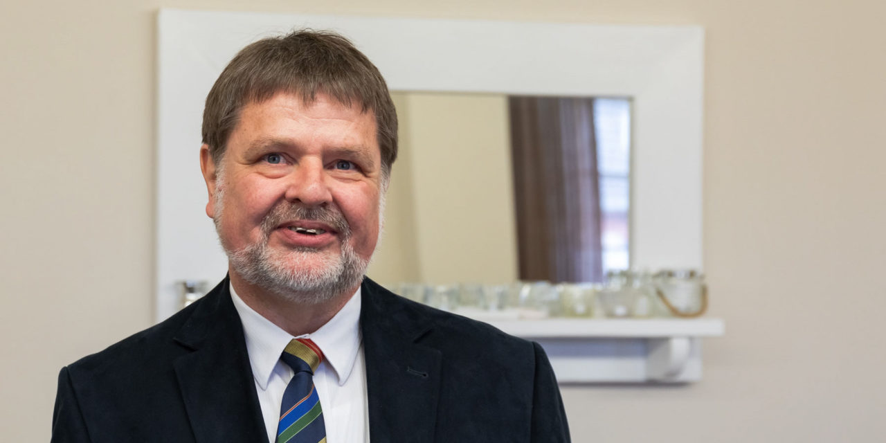 Kämmerer Thomas Köpp aus dem Amt Bokhorst-Wankendorf geht in den Ruhestand