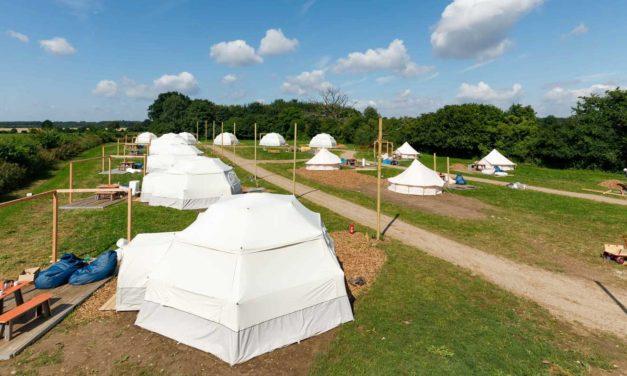 Camping unterm Sternenzelt auf Hof Viehbrook
